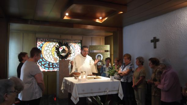 Eucaristía en Pintor López