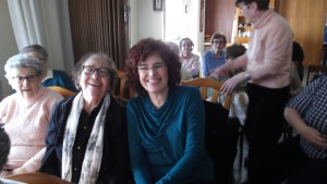 Rosa y participantes
